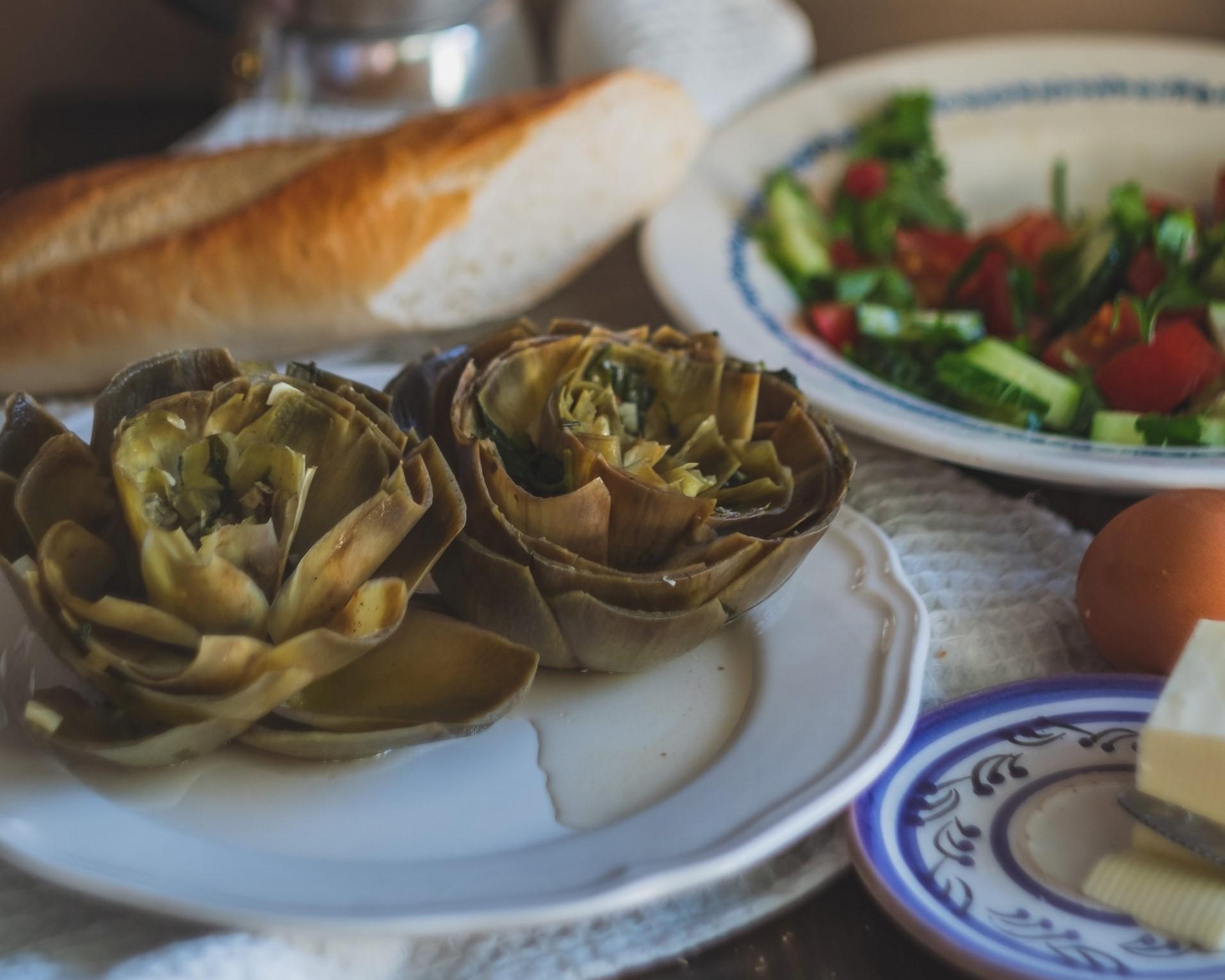 carciofi ammollicati alla siciliana