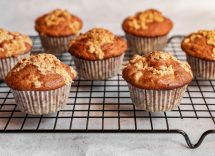 Muffin con farina di farro e mandorle