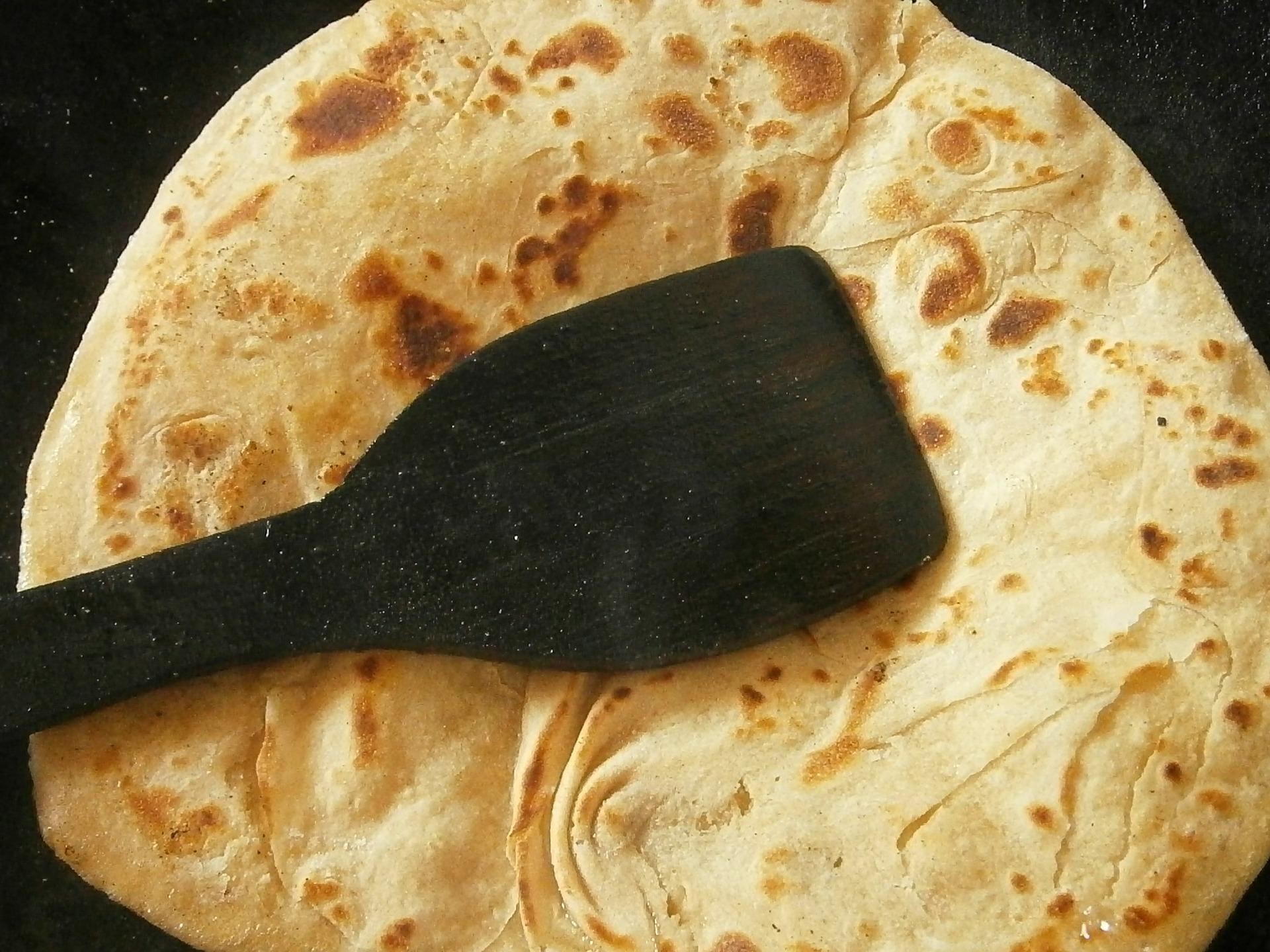 Pane azzimo ricetta in padella