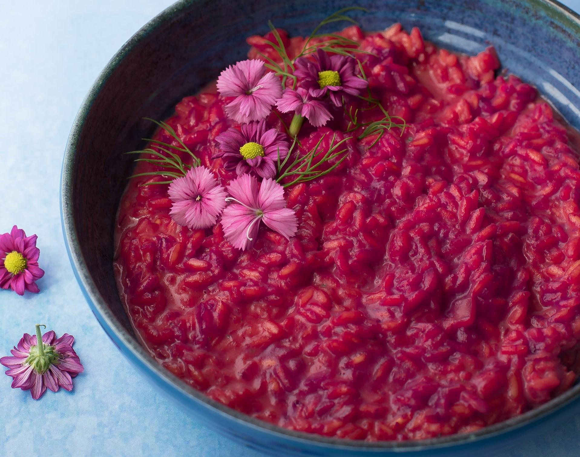 Risotto ai mirtilli ricetta