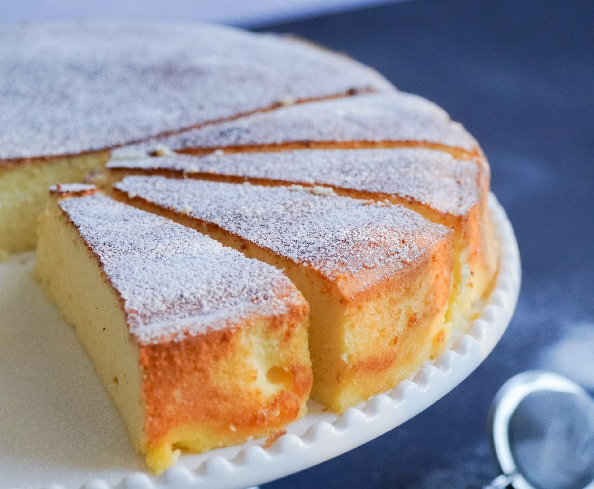 Torta paradiso arancia ricetta