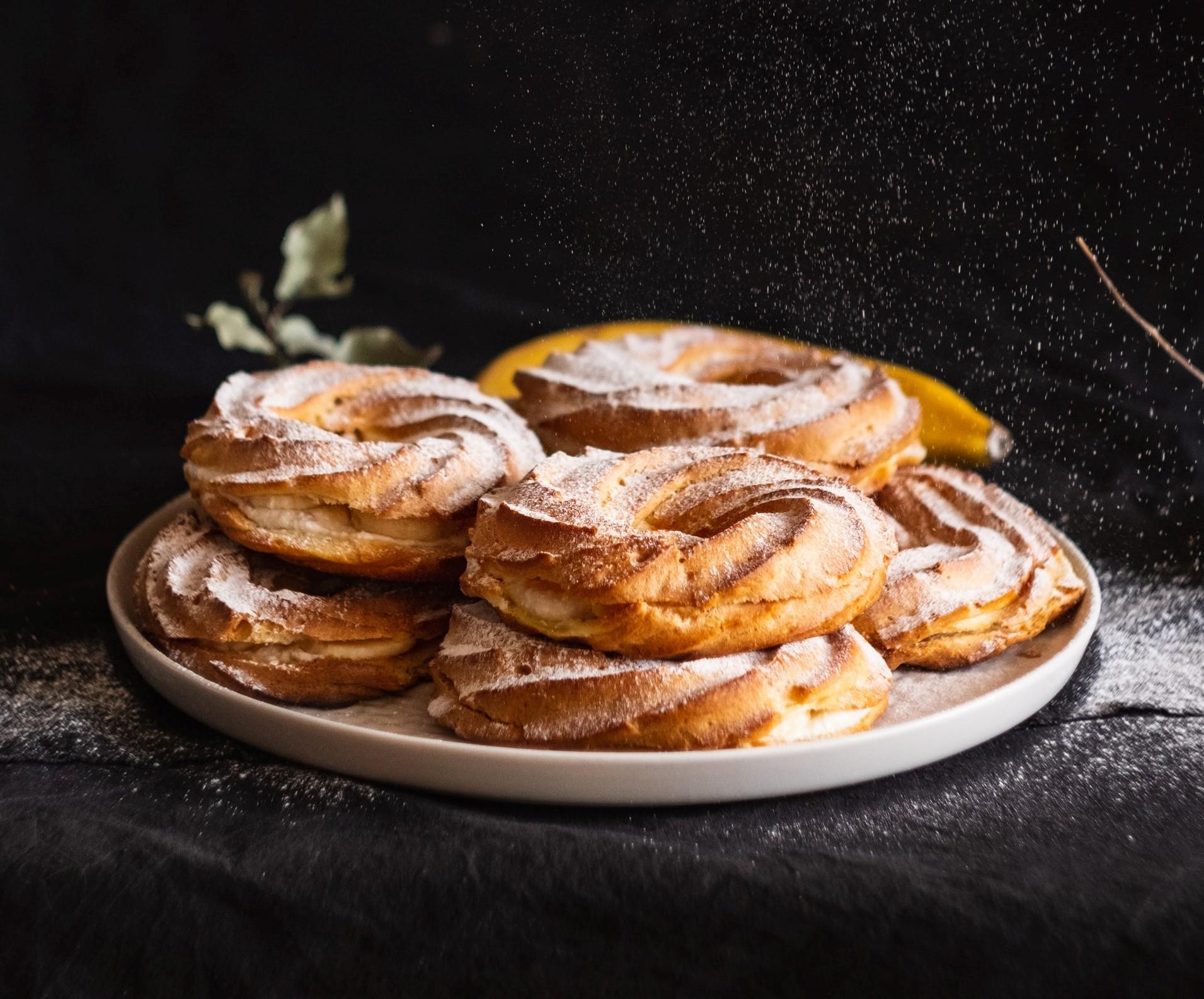 zeppole al pistacchio ricetta