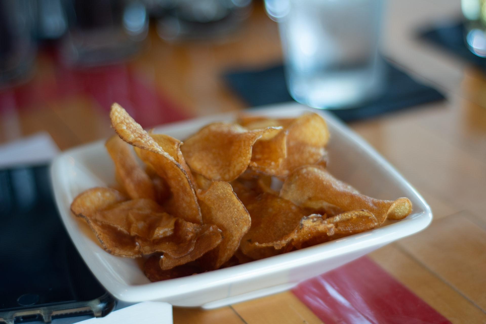 chips di patate ricetta