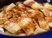 mele alla cannella in padella ricetta
