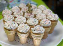 Muffin nel cono gelato ricetta