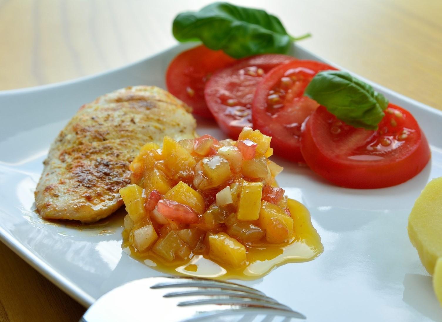 pollo al mango ricetta