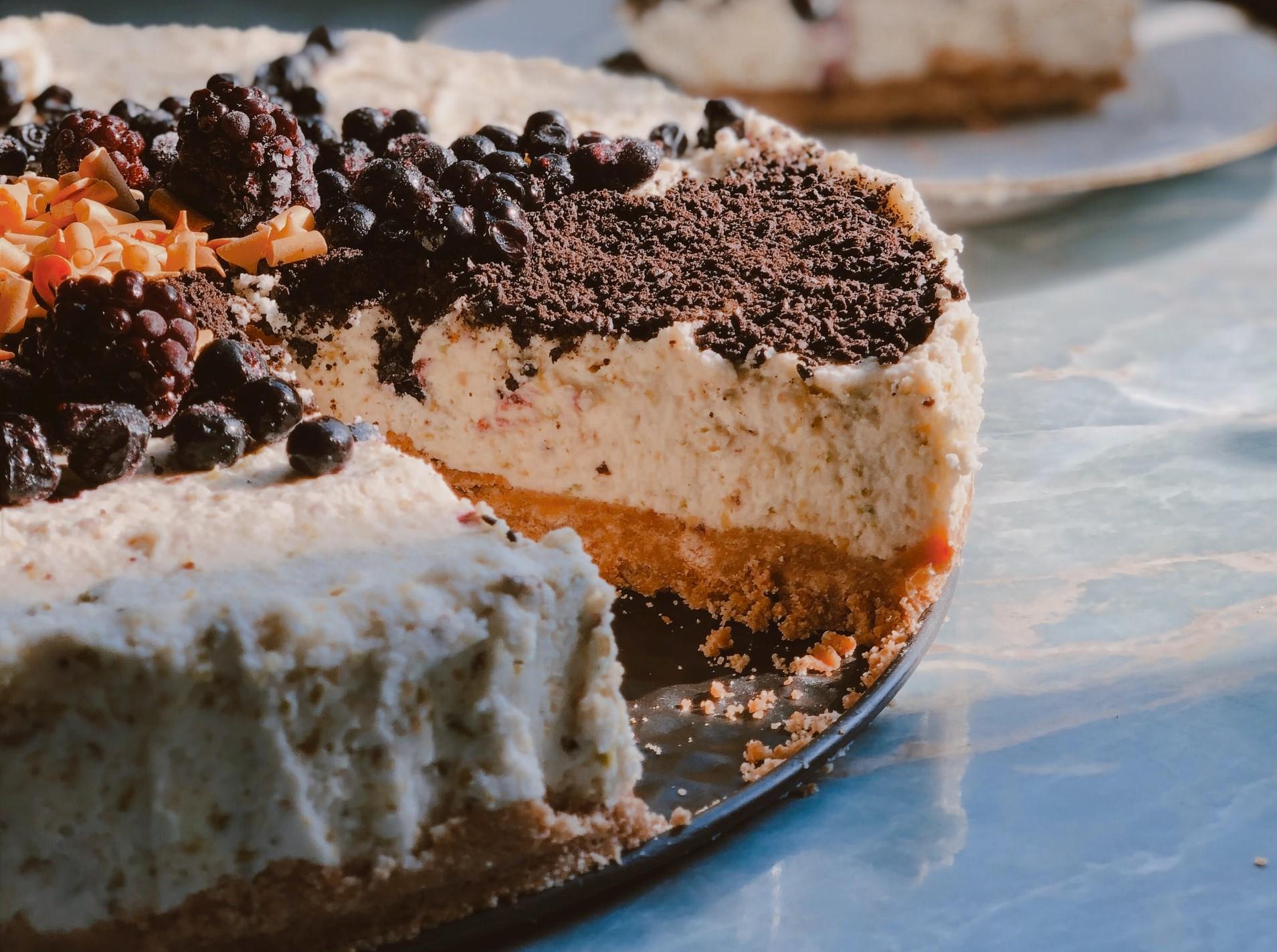 ricetta cheesecake alla stracciatella