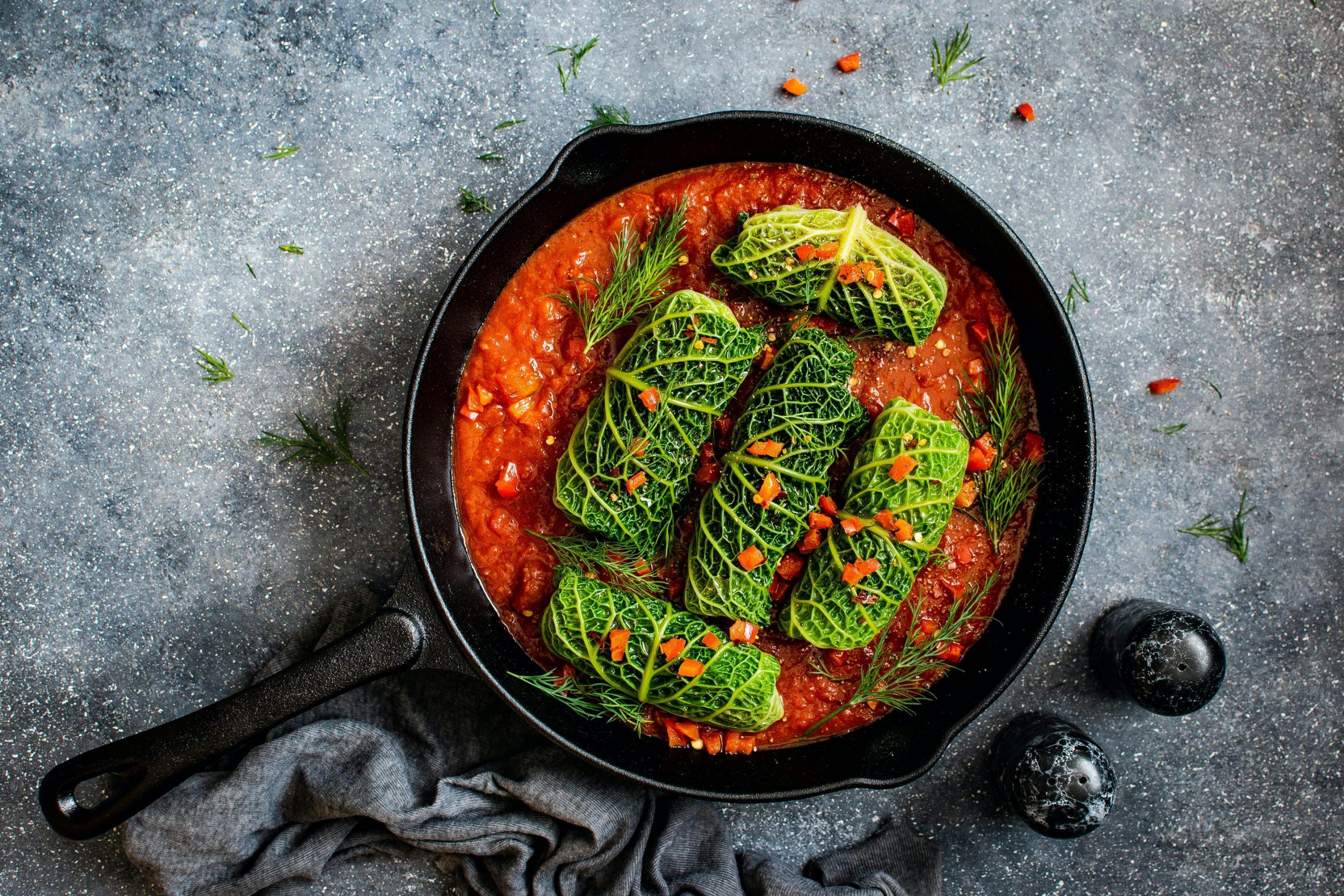 ricetta involtini di verza con riso e carne