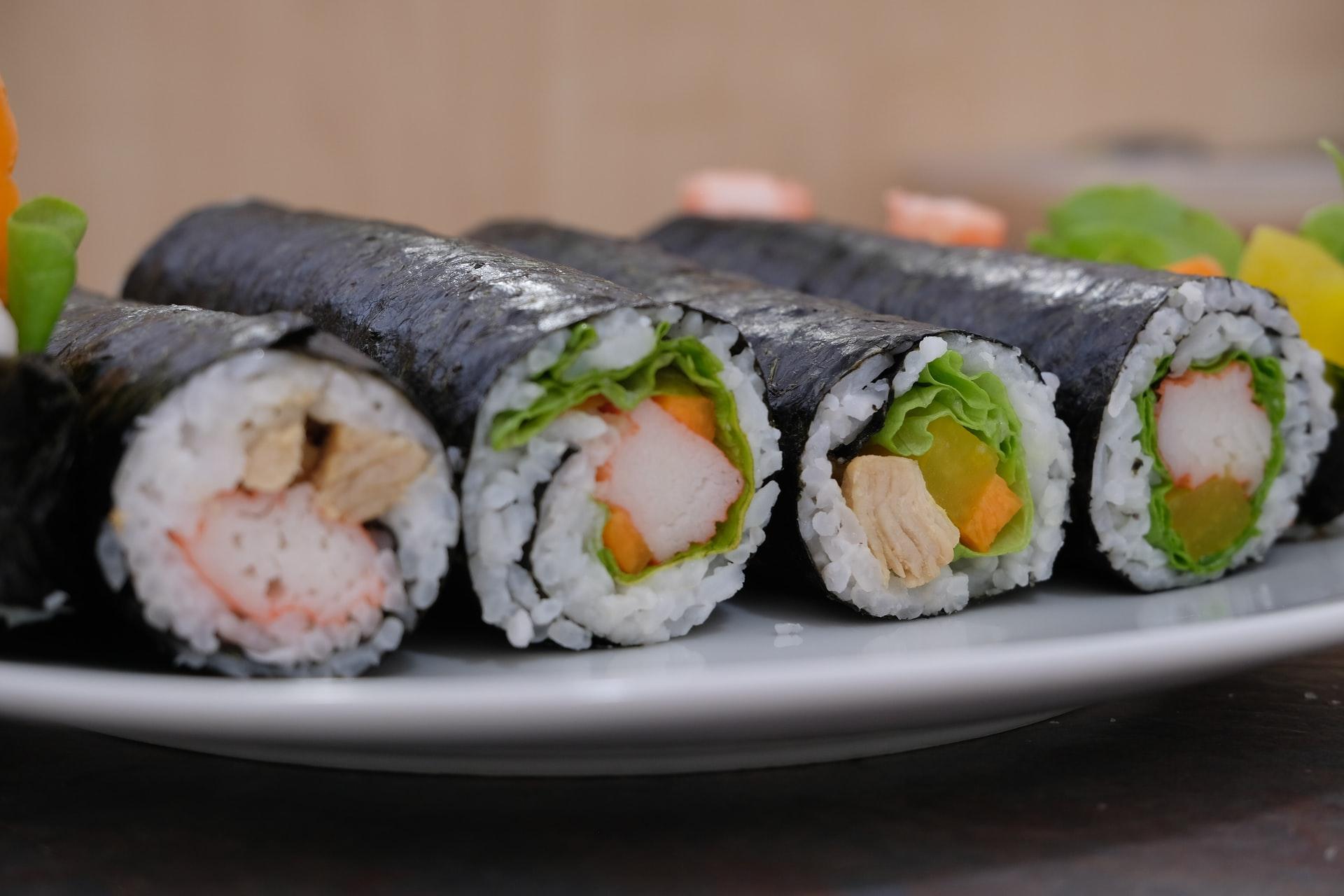 Sushi burrito ricetta