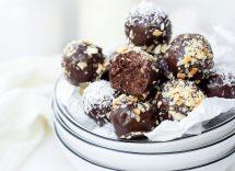 tartufi al cioccolato con biscotti ricetta