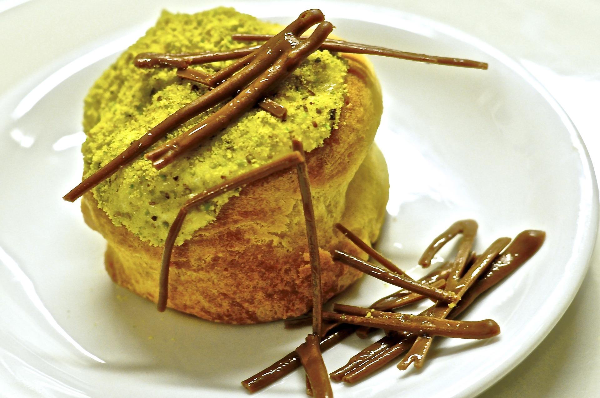 tortino al pistacchio con cuore morbido ricetta