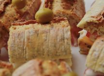 Baguette ripiena di tonno e peperoni ricetta