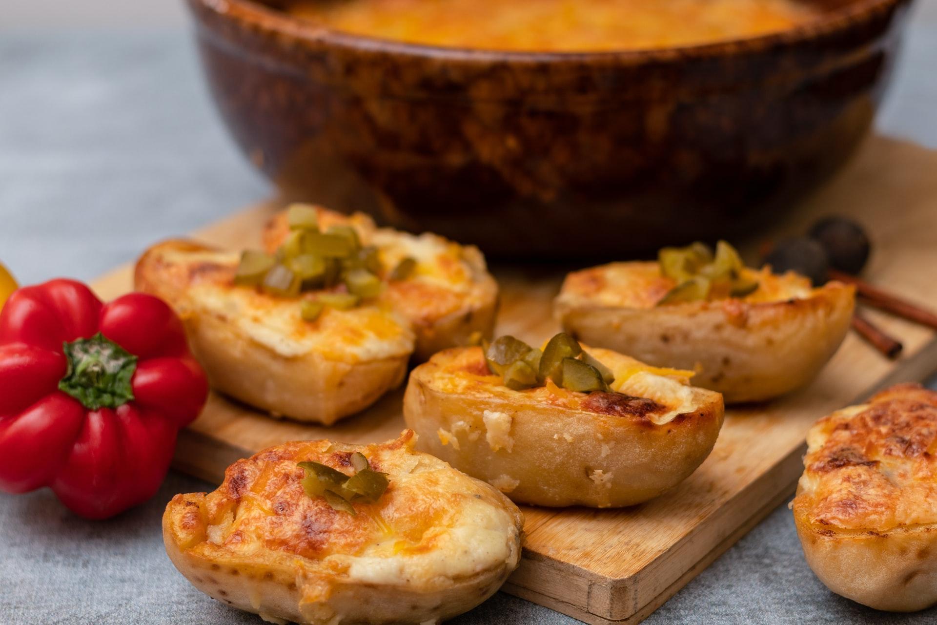 cestini patate fritte pollo ricetta