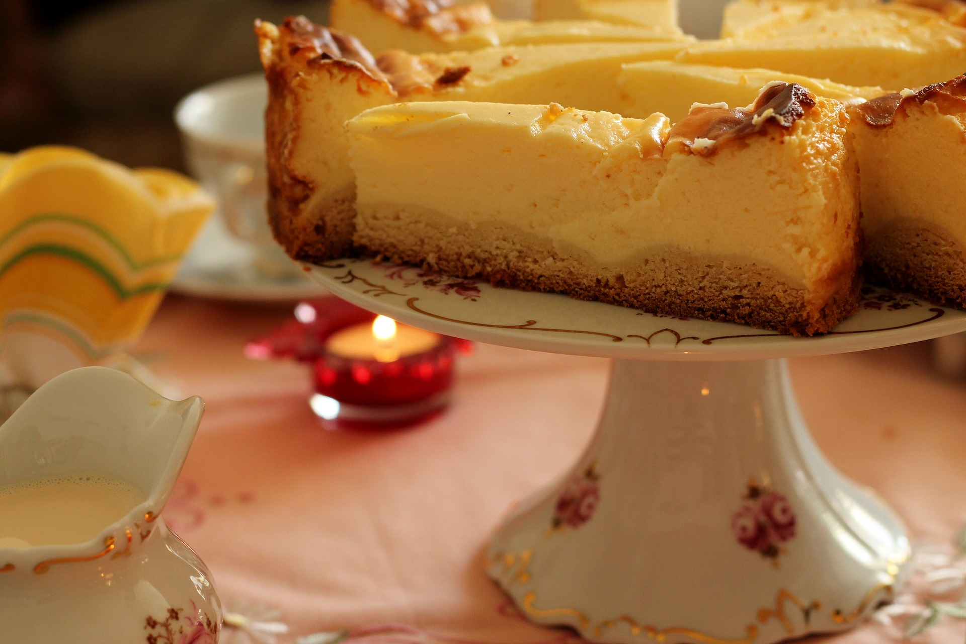 cheesecake limone al forno