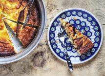 Cheesecake marmorizzata ricetta