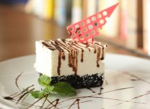 cheesecake ricotta e cioccolato senza colla di pesce