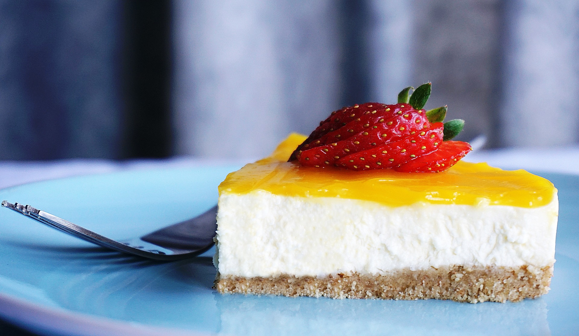 cheesecake tropicale ricetta