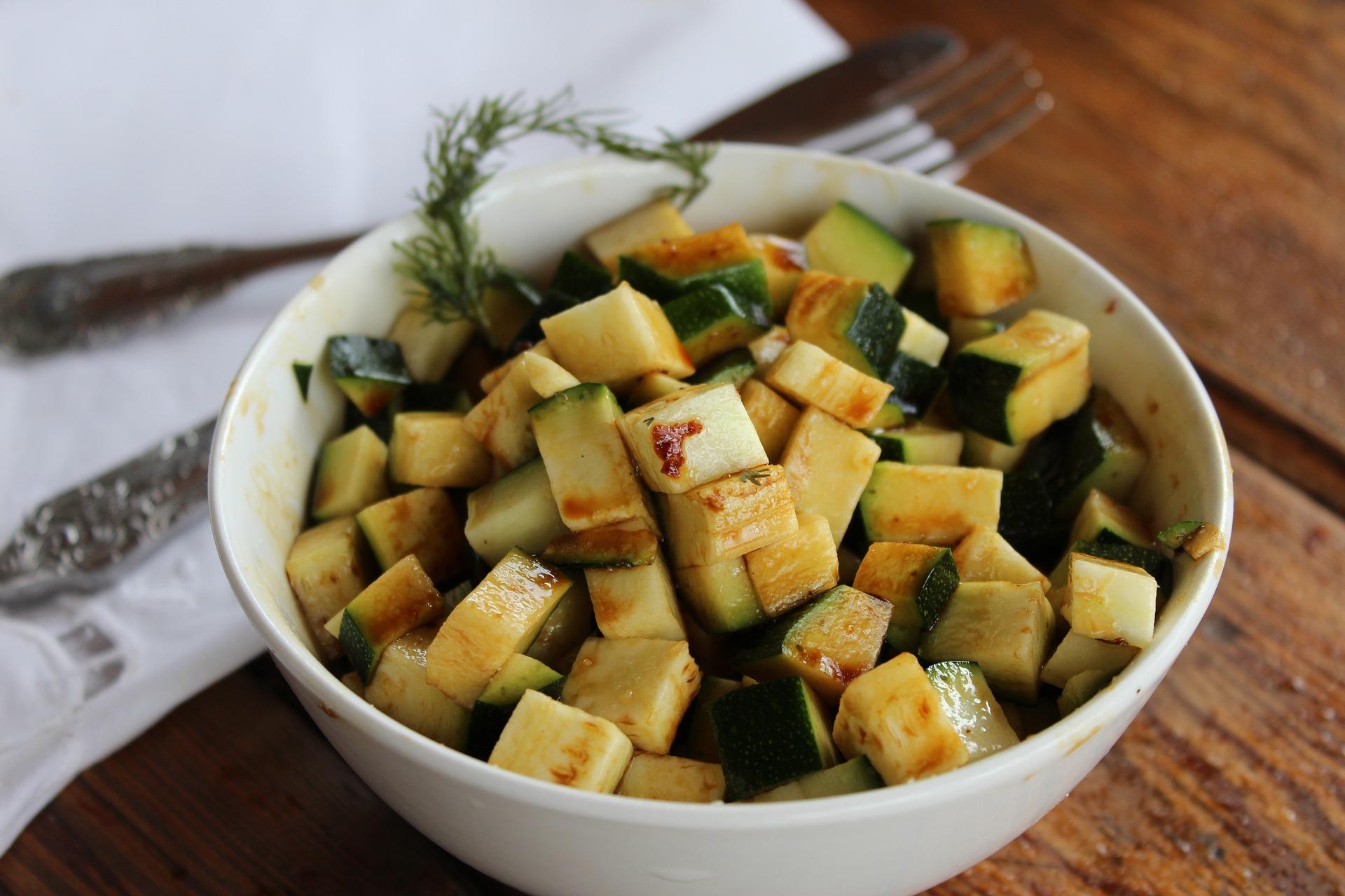 farro e zucchine ricetta