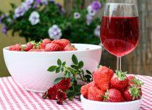 fragole al vino