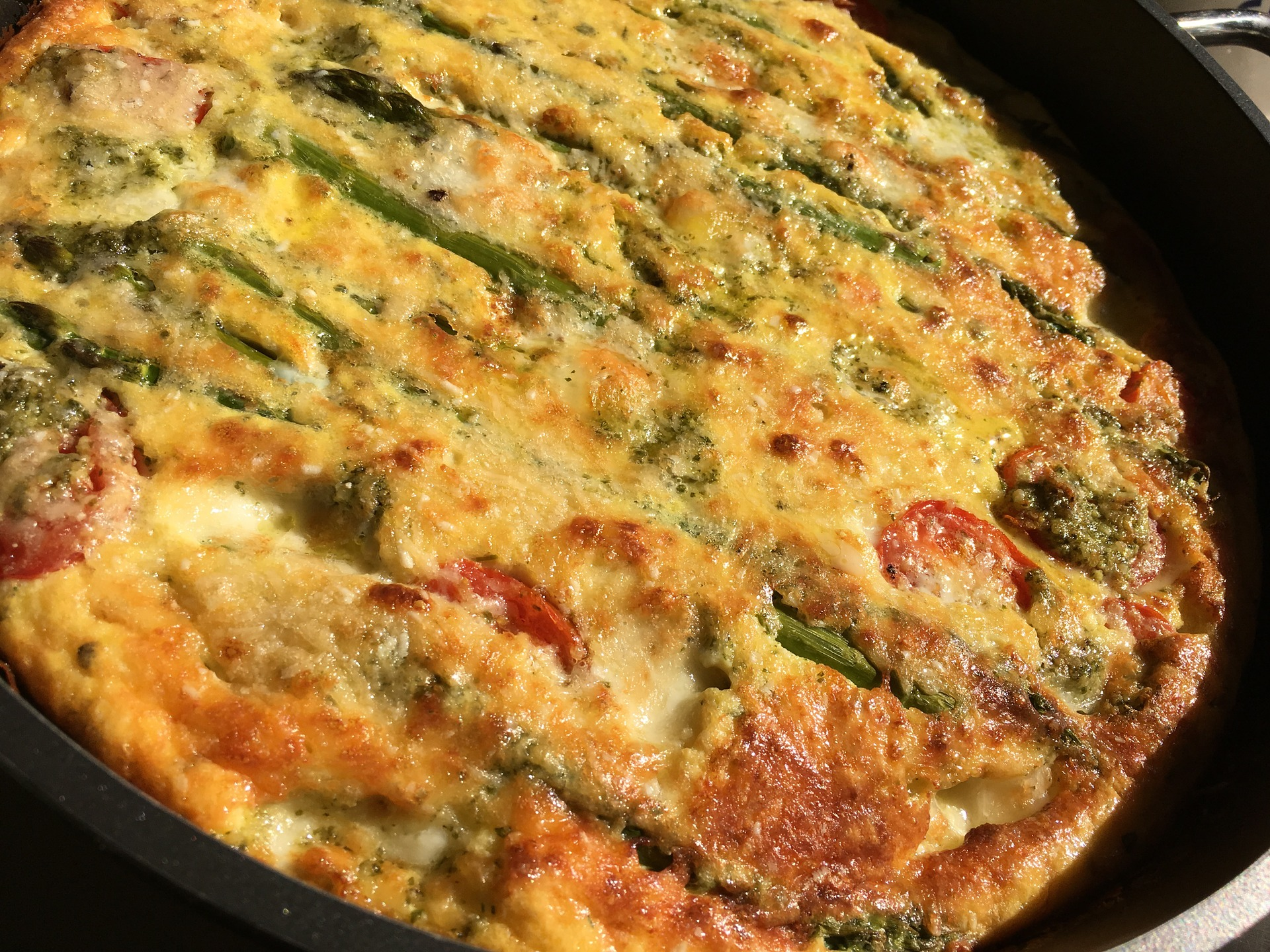 frittata di asparagi e patate ricetta