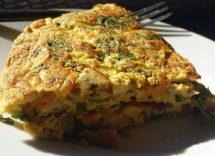 frittata di cicoria ricetta semplice e veloce