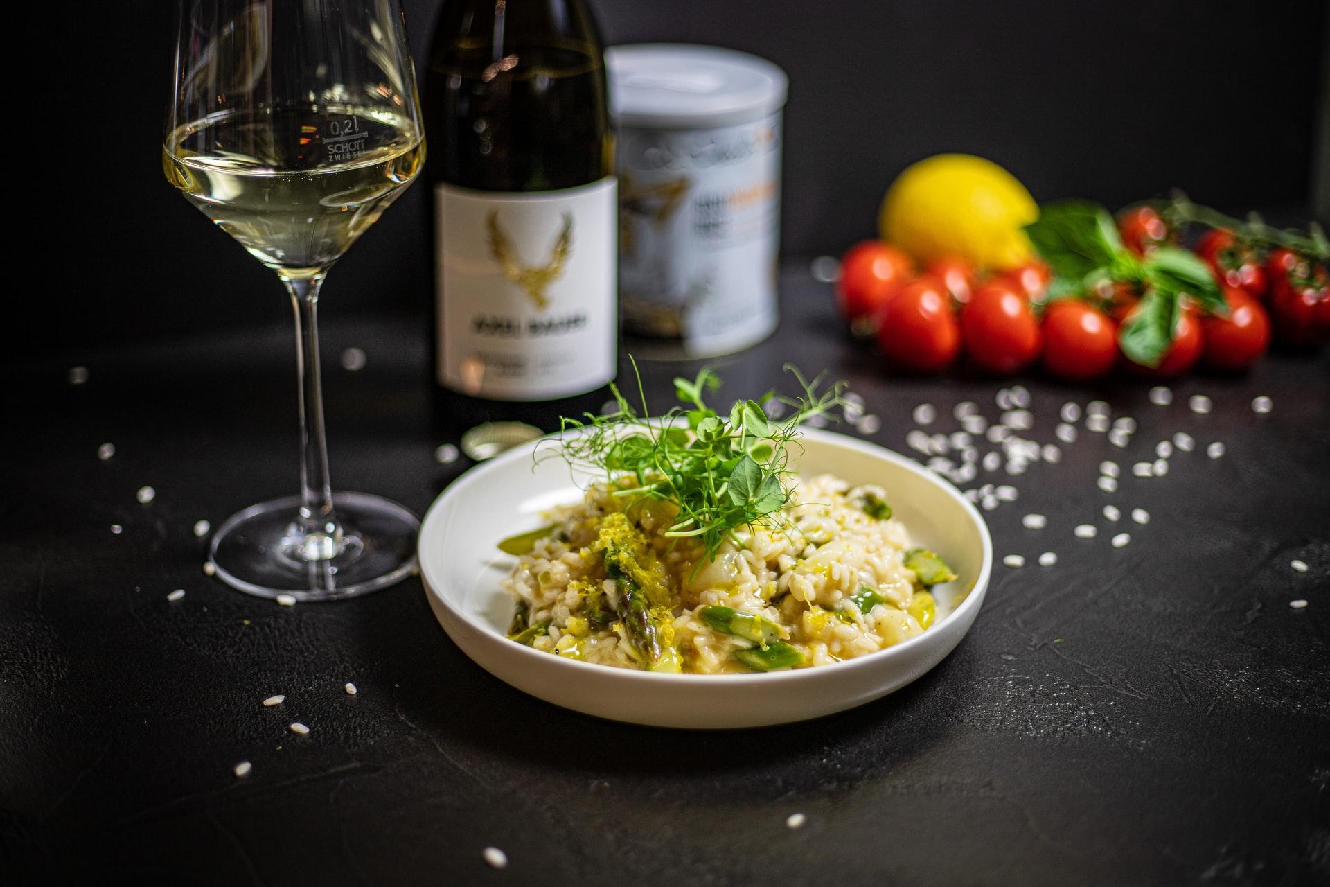 risotto asparagi salsiccia ricetta