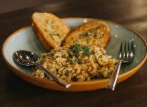 Risotto carciofi e pancetta ricetta