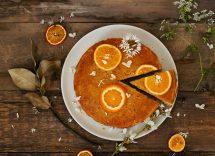 Torta magica all'arancia ricetta