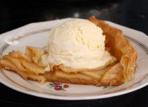 torta pasta sfoglia mele
