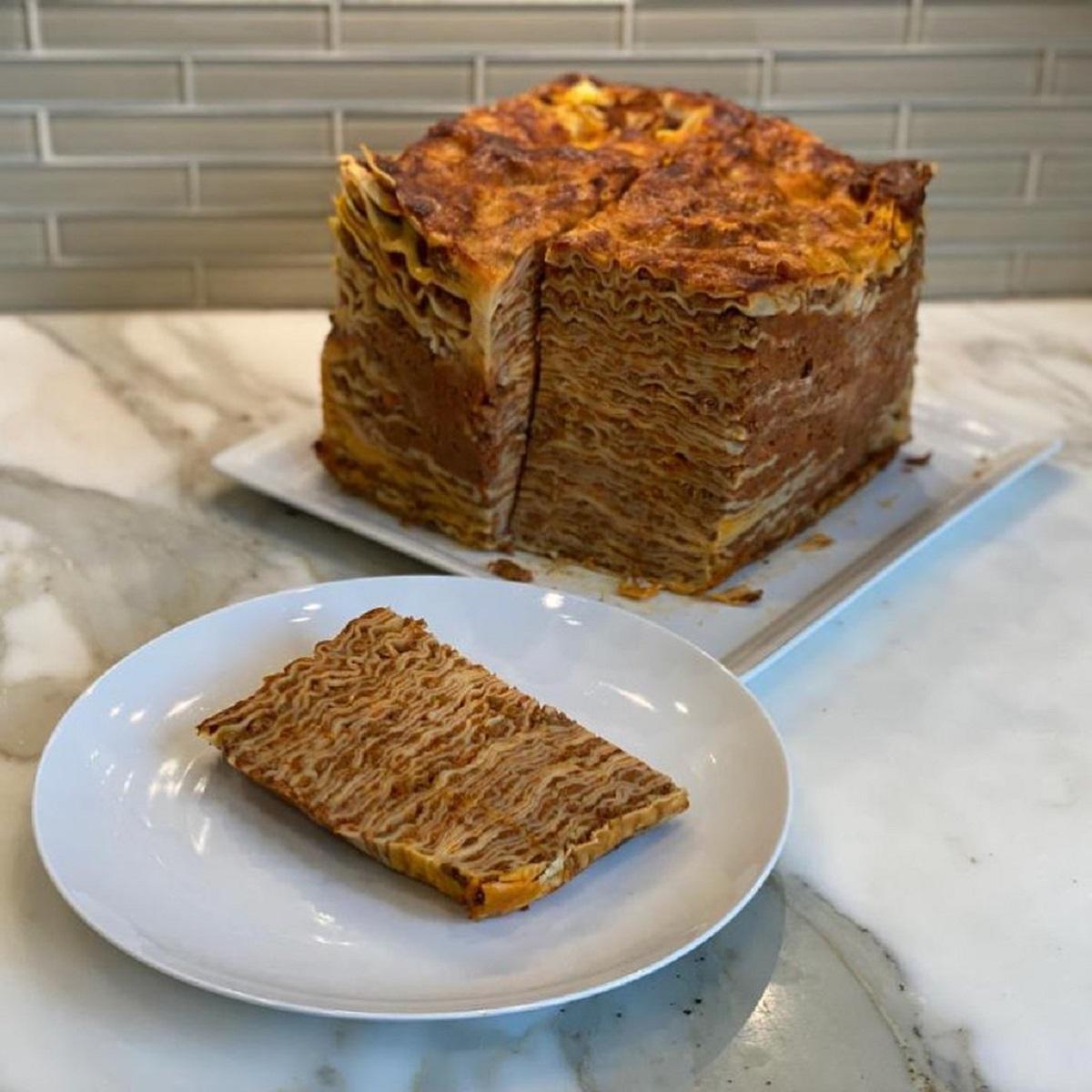 lasagna a 100 strati