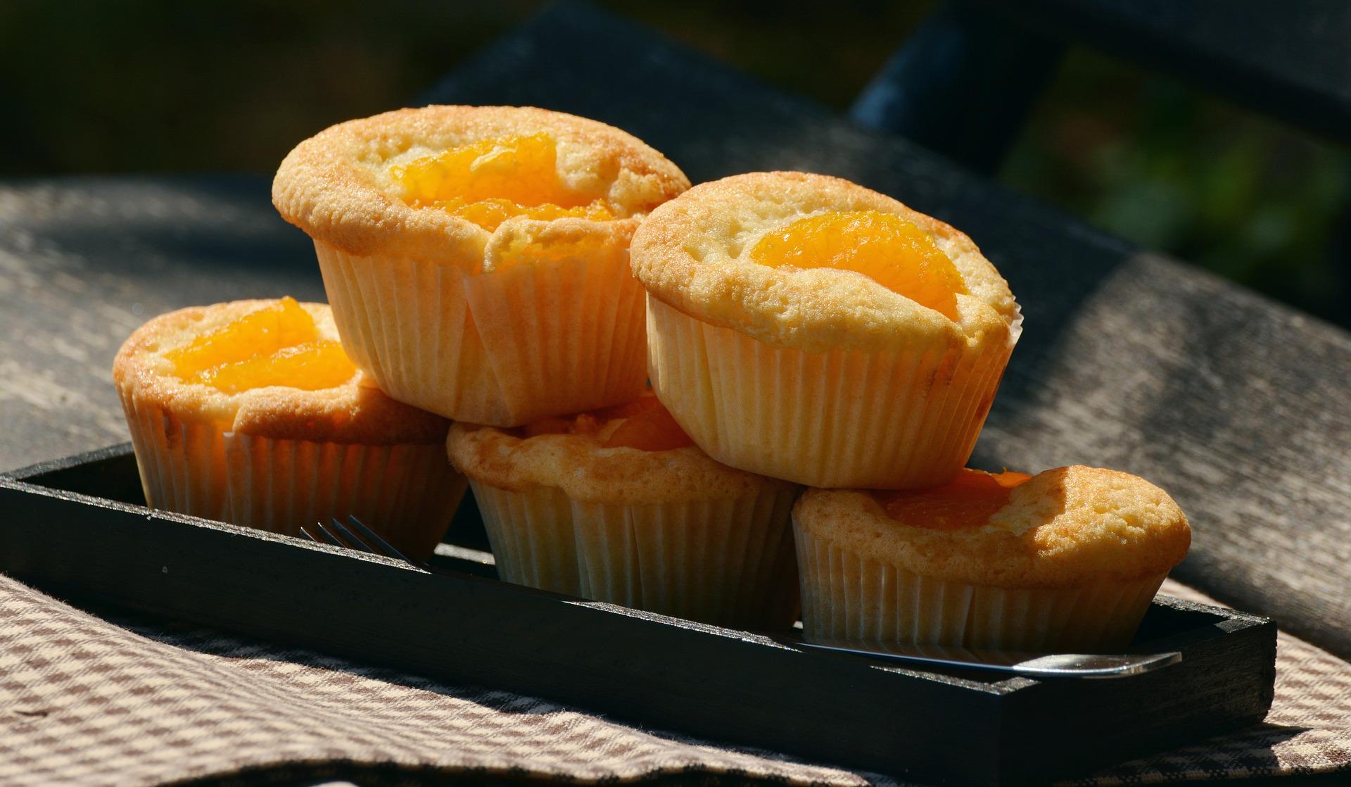muffin alle pesche ricetta