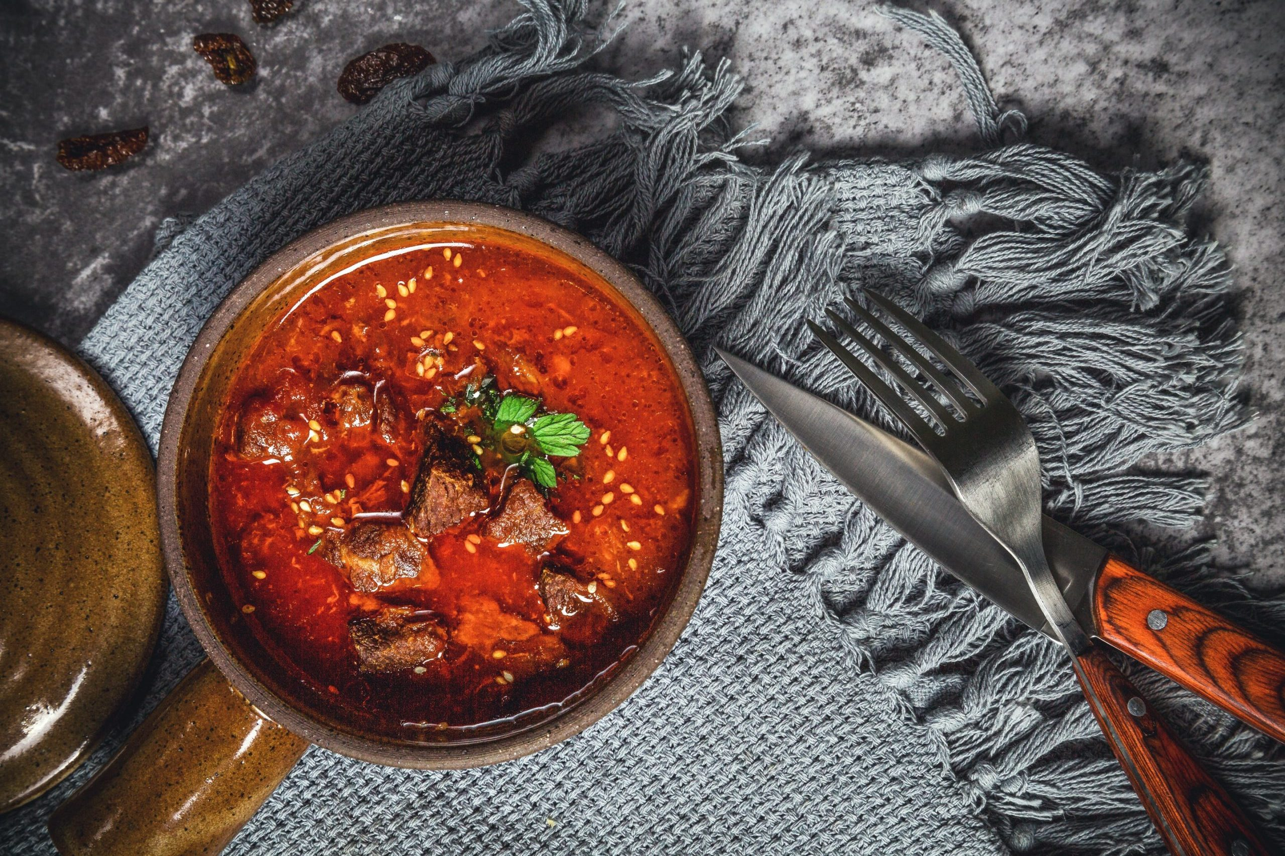 Agnello al curry e zucca