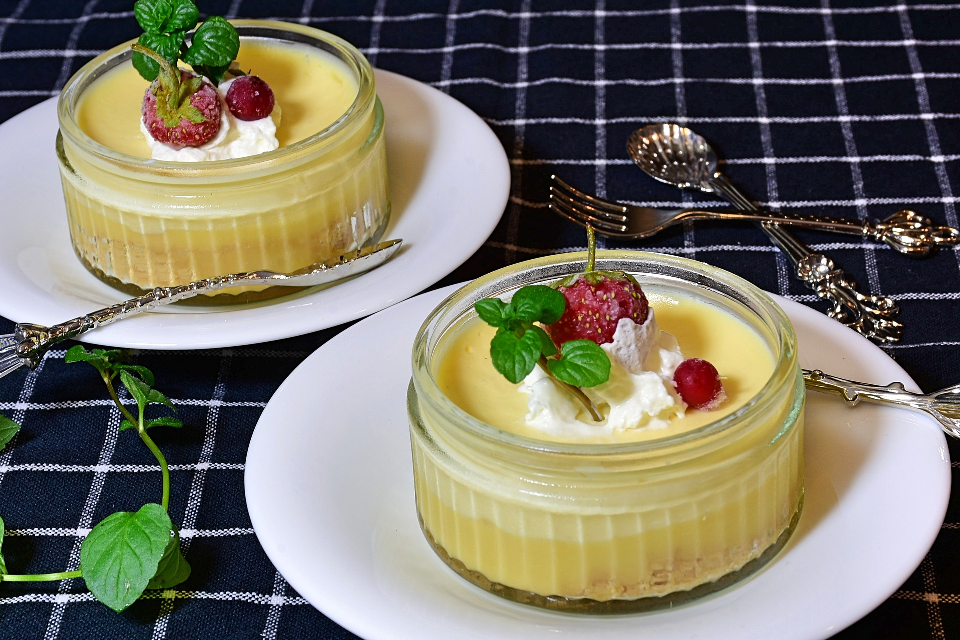 bicchierini crema al limone