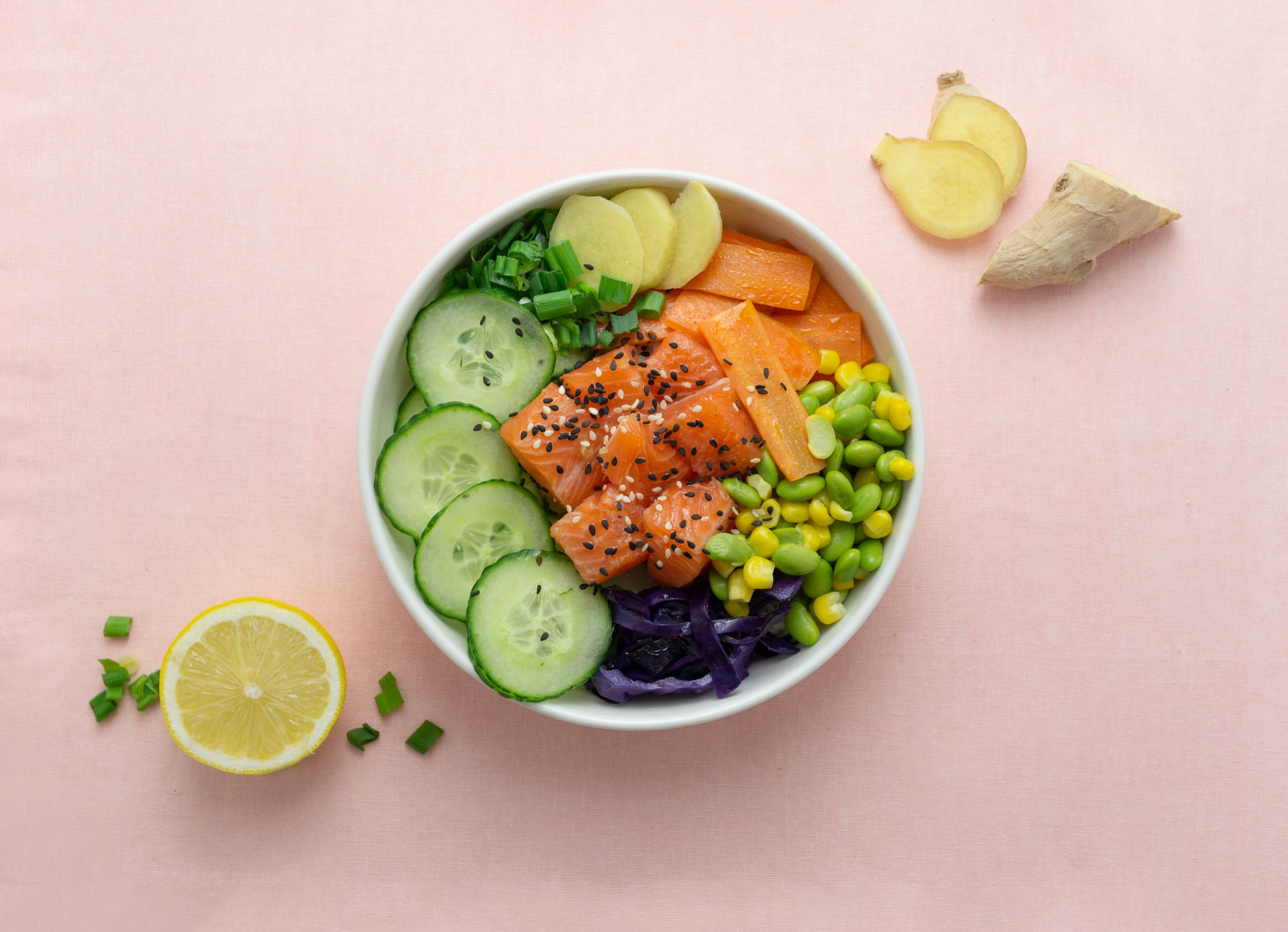 Bowl di sushi