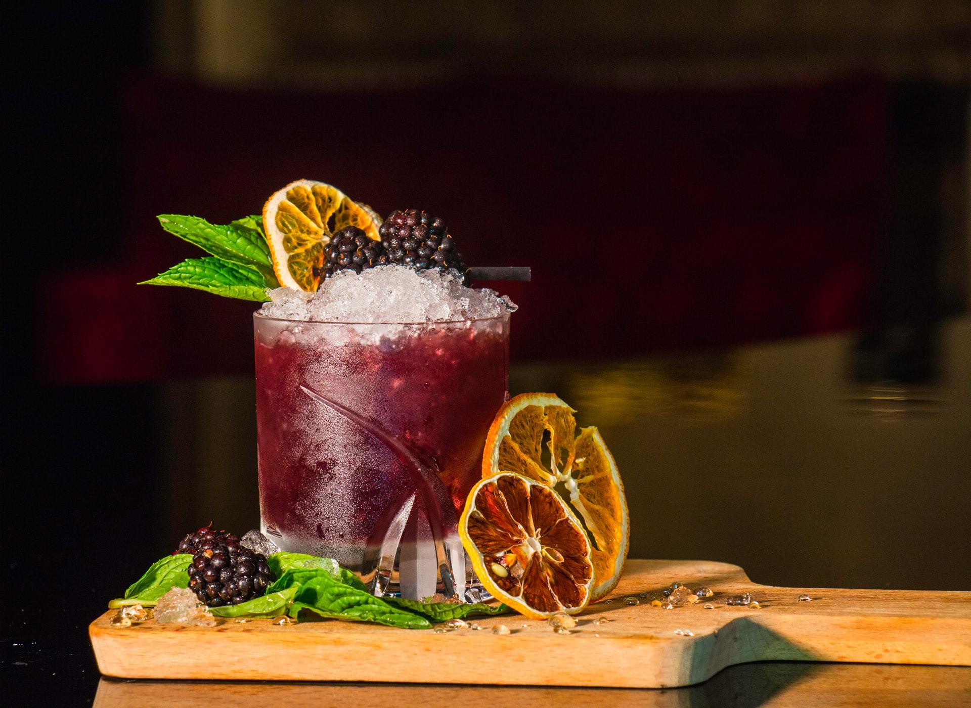 bramble cocktail ricetta