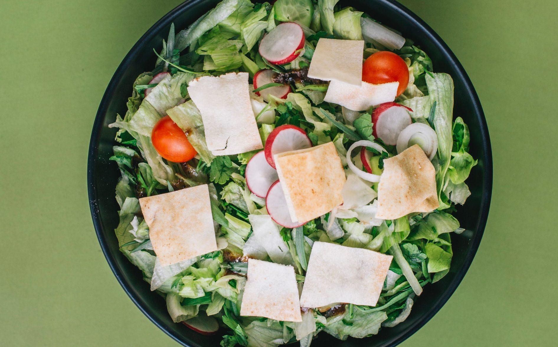 Fattoush libanese ricetta