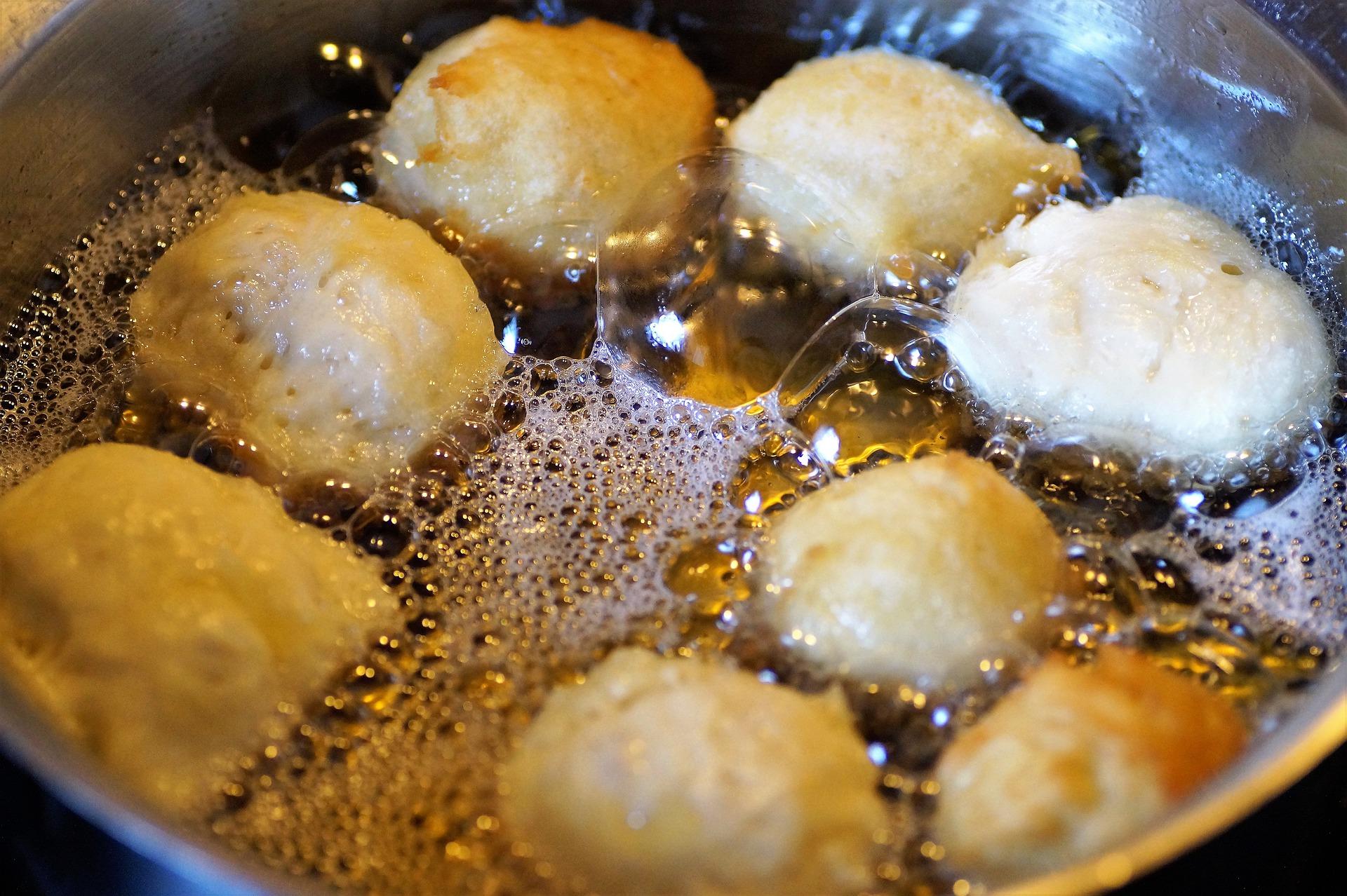 frittelle cocco crema nocciole