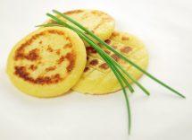 frittelle formaggio e spinaci