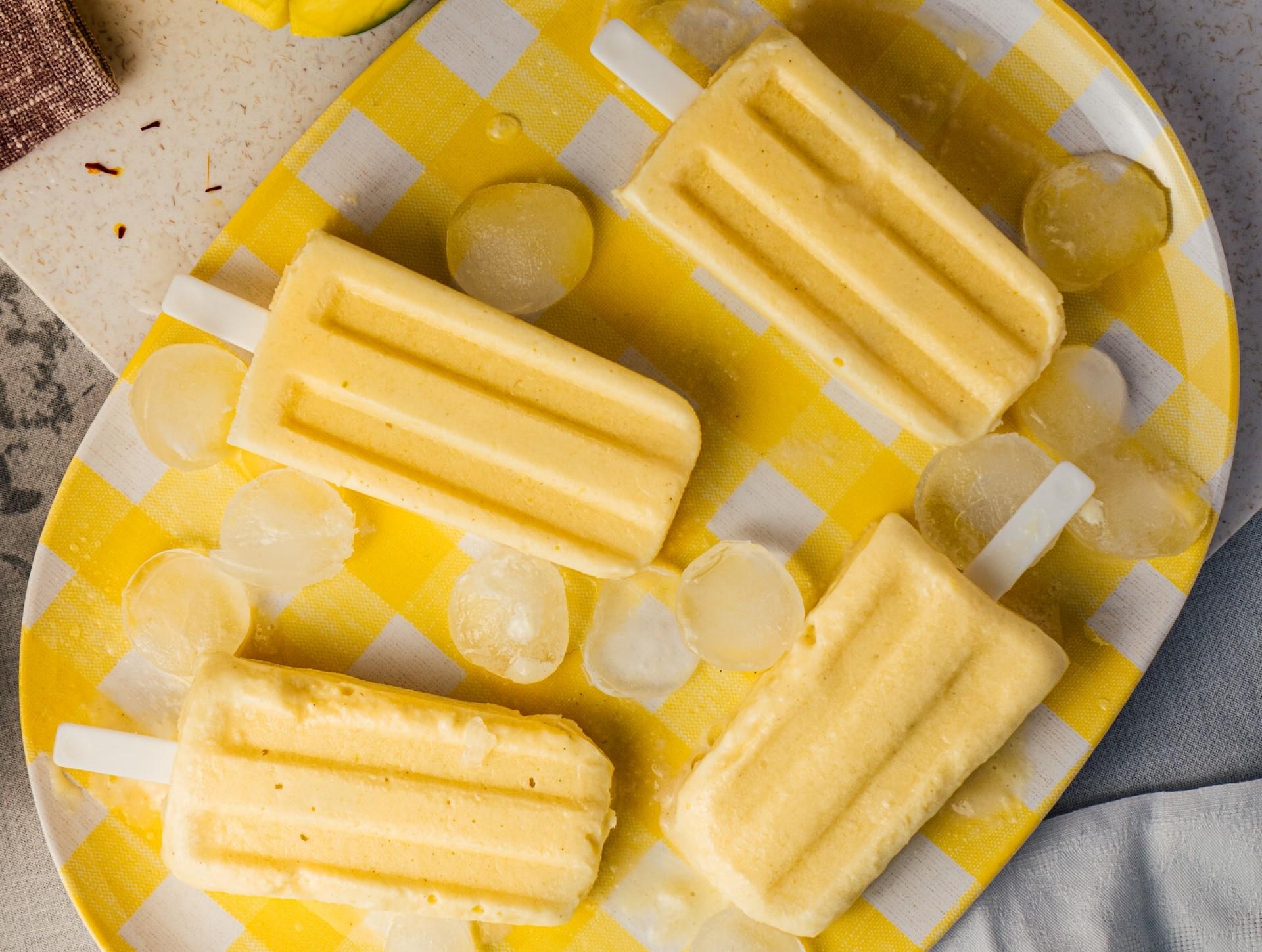 ghiaccioli ananas cocco ricetta