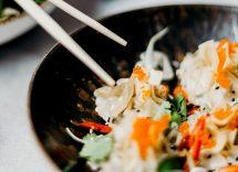 Insalata di pollo thai