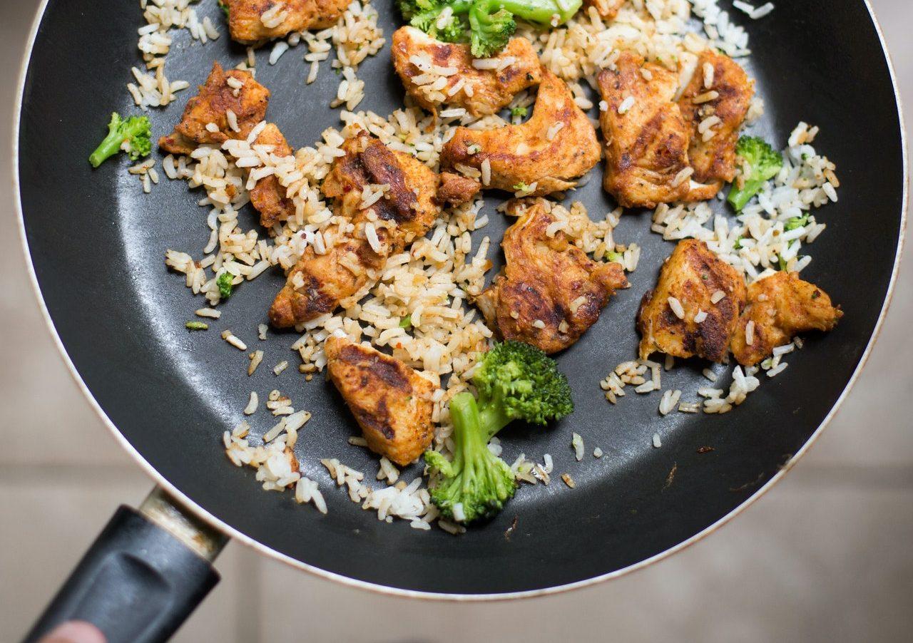 Insalata di riso fritto