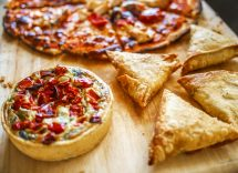 Mini quiches di pizza