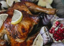 pollo arrosto limone e rosmarino