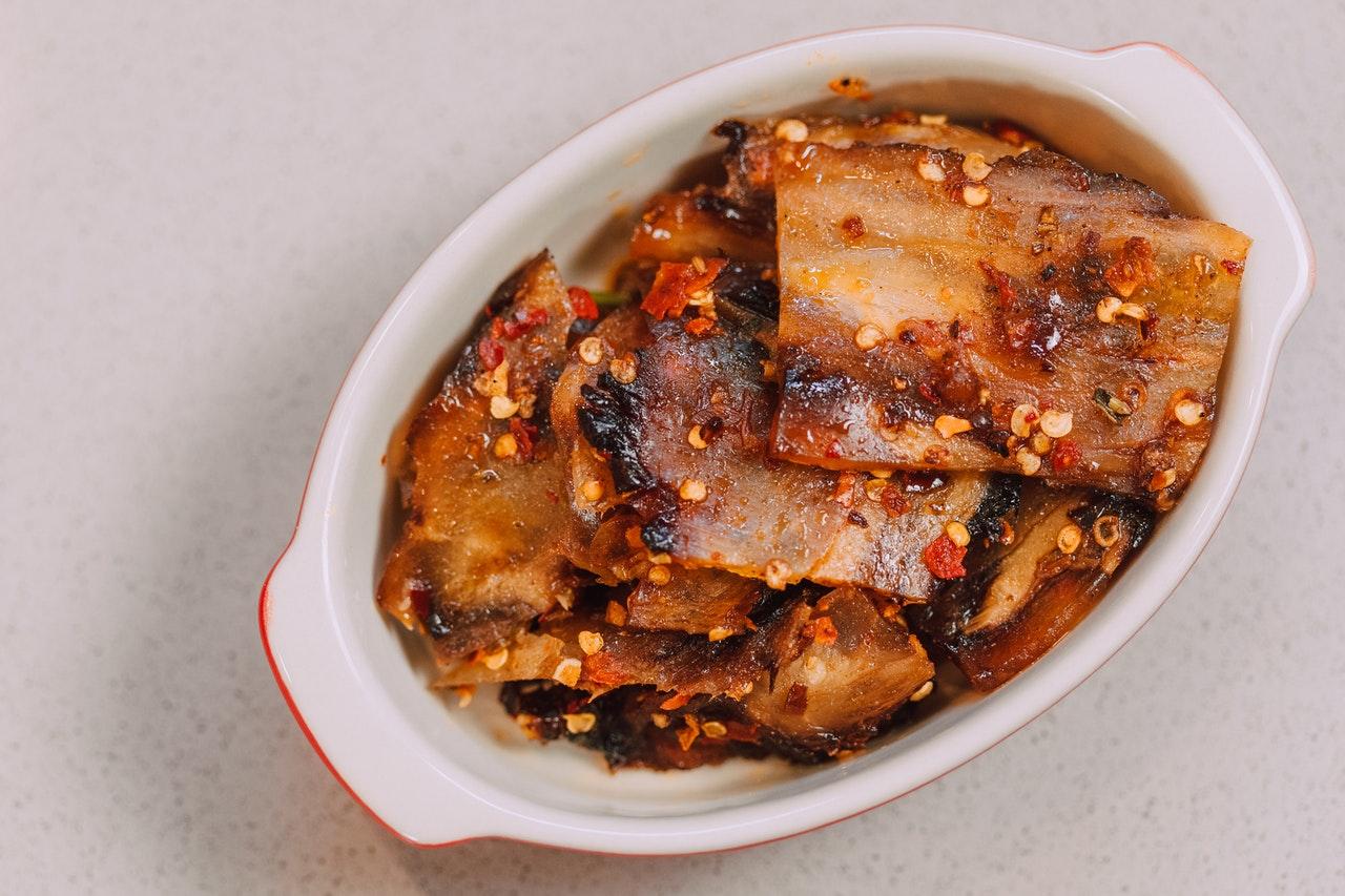 Pollo cinese piccante