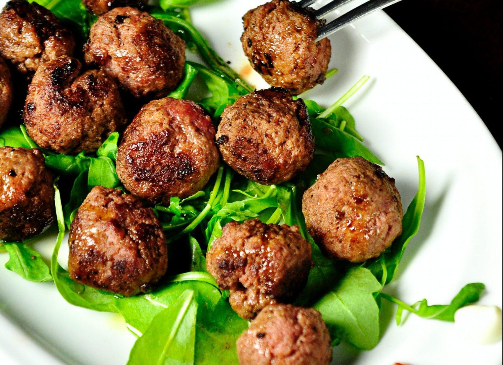 Polpette di carne e fagioli