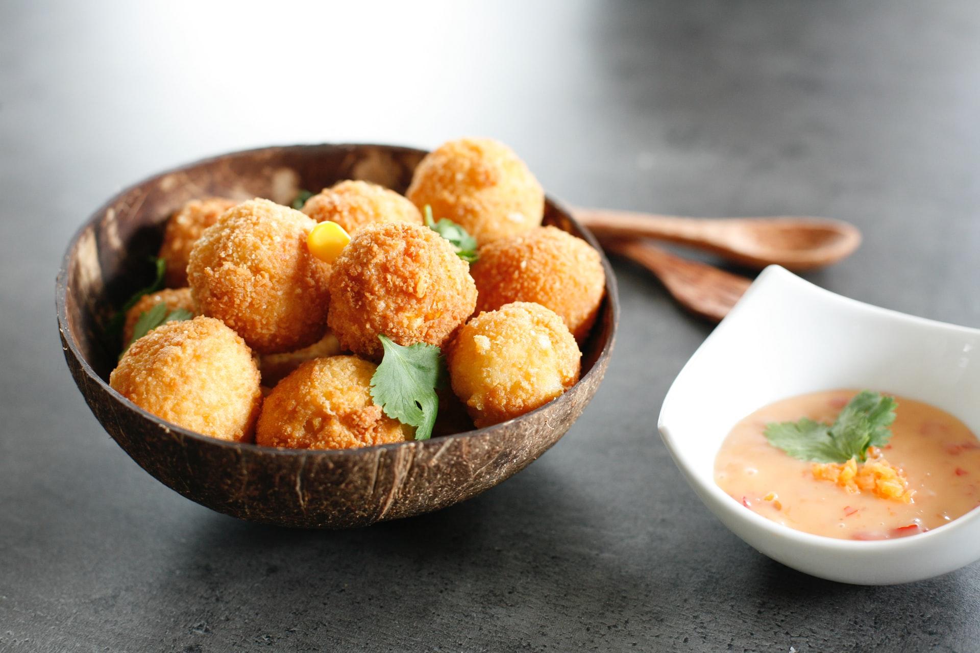 polpette tofu pomodori secchi olive
