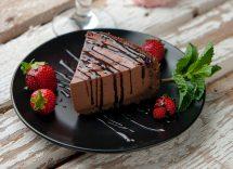 semifreddo vegano al cioccolato