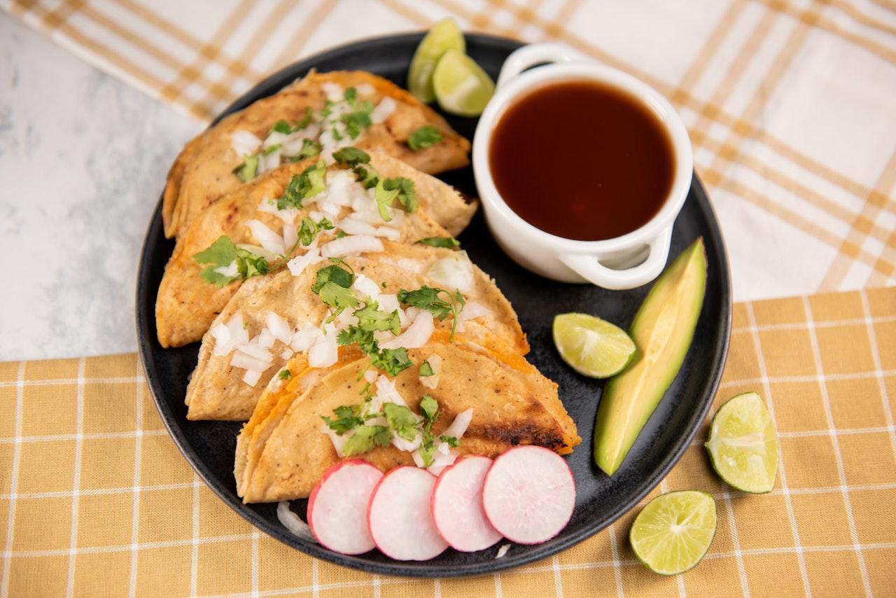Tacos di pollo light