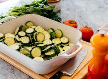 timballo zucchine uova formaggio