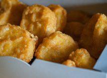 frittelle ceci con maionese cavolfiore